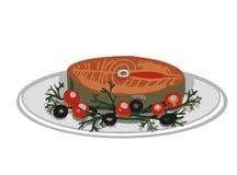 Rybi mięso ilustracja wektor