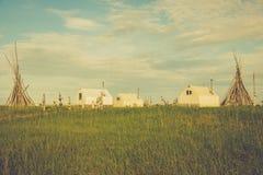 Rybi obóz obrazy royalty free