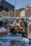 Rybi Rynek Południe Francja - Marseille - Zdjęcie Stock