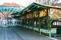 Rybi rynek w Treviso, Veneto, Włochy Zdjęcie Stock