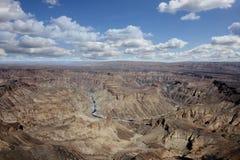 Rybi rzeczny jar Namibia Zdjęcia Stock