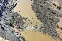 Rybi Rzeczny jar - Namibia, Afryka Zdjęcia Stock