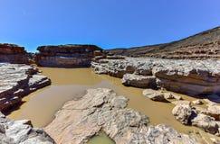 Rybi Rzeczny jar - Namibia, Afryka Zdjęcie Stock