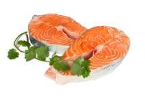 rybi stek Obrazy Stock