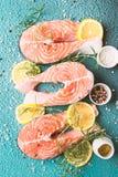 rybi surowy łosoś Zdjęcie Stock