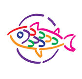 rybi talerz Zdjęcia Stock