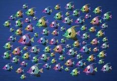 rybi tropikalny biel Obraz Royalty Free