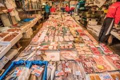 Rybi Tsukiji rynek Zdjęcia Royalty Free