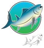 rybi tuńczyk royalty ilustracja