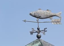 Rybi Weathervane Obraz Royalty Free
