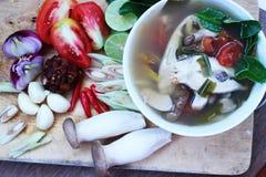 Rybi zupny Tajlandia jedzenie Obrazy Stock