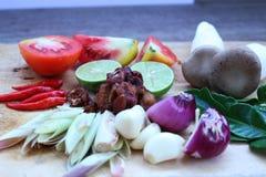 Rybi zupny Tajlandia jedzenie Obrazy Royalty Free