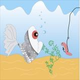 rybia dżdżownica Obrazy Royalty Free
