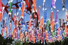 Rybia flaga w Japan Obraz Royalty Free