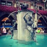 Rybia fontanna zdjęcia stock