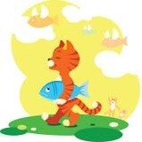 rybia komarnica ilustracji