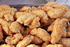 Rybia mięsna piłka w rynku Obraz Stock