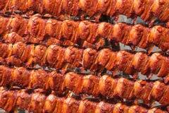 Rybia osuszka na stojakach w słońcu Zdjęcie Stock