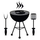 Rybia pieczeń na grilla grillu Fotografia Stock