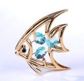 rybia złota biżuteria Obraz Royalty Free