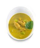 Rybich organów kwaśna polewka, Tajlandzki jedzenie Obrazy Royalty Free