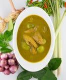 Rybich organów kwaśna polewka, Tajlandzki jedzenie Fotografia Stock
