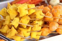 Rybie mięsne piłki Fotografia Stock