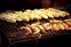 rybiego jedzenia pietruszki talerz piec morze Zdjęcie Stock