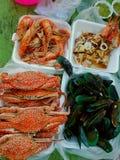rybiego jedzenia pietruszki talerz piec morze Zdjęcia Royalty Free