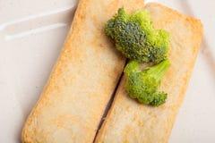 Rybiej pasty mochi dla Japońskiego karmowego składnika wizerunku i tort Zdjęcie Royalty Free