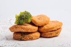 Rybiej pasty mochi dla Japońskiego karmowego składnika wizerunku i tort Zdjęcia Royalty Free