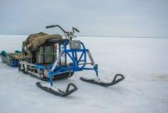 Rybinsk morze w Yaroslavl regionie Zdjęcia Stock