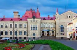 Rybinsk stan architektoniczny i sztuki rezerwa, R Fotografia Stock