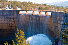 Rybniza Jezero水坝 图库摄影