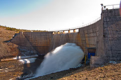 Rybniza Jezero Dam. In Zlatibor region of Serbia Stock Images