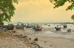 rybołówstwo łodzie obrazy royalty free