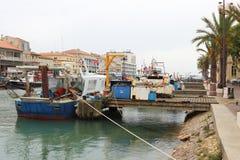 Rybołówstwo łodzie w Le Roi, Francja Zdjęcia Stock