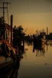 Rybołówstwo społeczność zdjęcie stock
