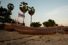 Rybołówstwo społeczność w Tajlandia Zdjęcie Stock