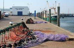 Rybołówstwo w schronieniu melina Oever zdjęcia stock