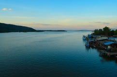Rybołówstwo wioska obrazy stock