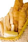 ryby z frytkami Fotografia Stock