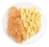 ryby z frytkami Obrazy Stock