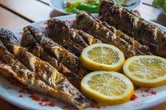 ryby z grilla Zdjęcie Royalty Free