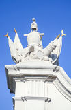 Rycerza przewdonika rzeźby grupa Bratislava kasztelu brama w Bratislava, Sistani Fotografia Stock