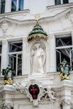Rycerze krzyż z czerwieni gwiazdą Obraz Royalty Free