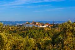 Rycerze templariuszów klasztory Chrystus kasztel - Tomar Port Zdjęcie Royalty Free