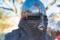 Rycerze walczy spełnianie podczas Nottingham Zdjęcie Royalty Free