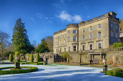Rydal Hall and gardens on a frosty morning Royalty Free Stock Images