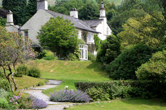 Rydal Mount, England. Rydal Mount, the home of the poet William Wordsworth, England Stock Image